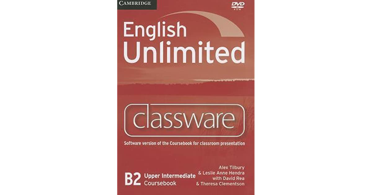 English unlimited b2 upper intermediate coursebook by alex tilbury fandeluxe Choice Image