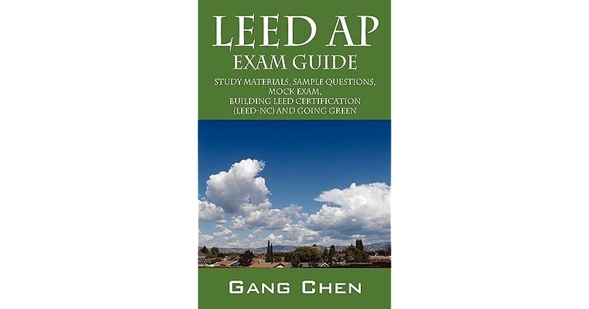 LEED AP Exam Guide: Study Materials, Sample Questions, Mock Exam ...
