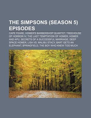 The Simpsons (Season 5) Episodes: Cape Feare, Homer's Barbershop