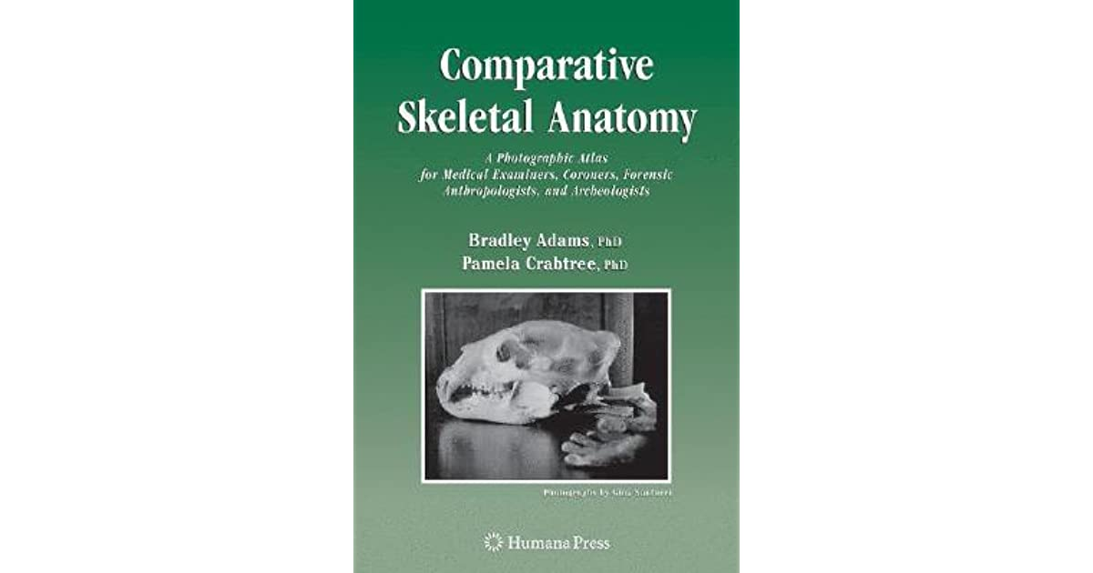 Comparative Skeletal Anatomy: A Photographic Atlas for Medical ...