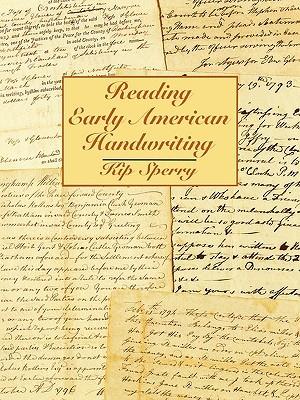 Reading Early American Handwriting