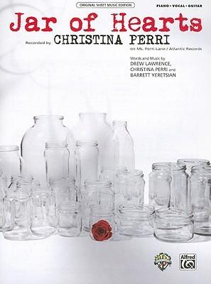 Jar Of Hearts Piano Vocal Guitar By Christina Perri