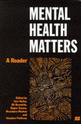 Mental Health Matters: A Reader