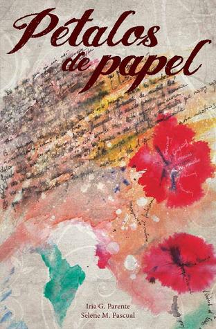 Portada de la novela romántica de fantasía juvenil Pétalos de papel