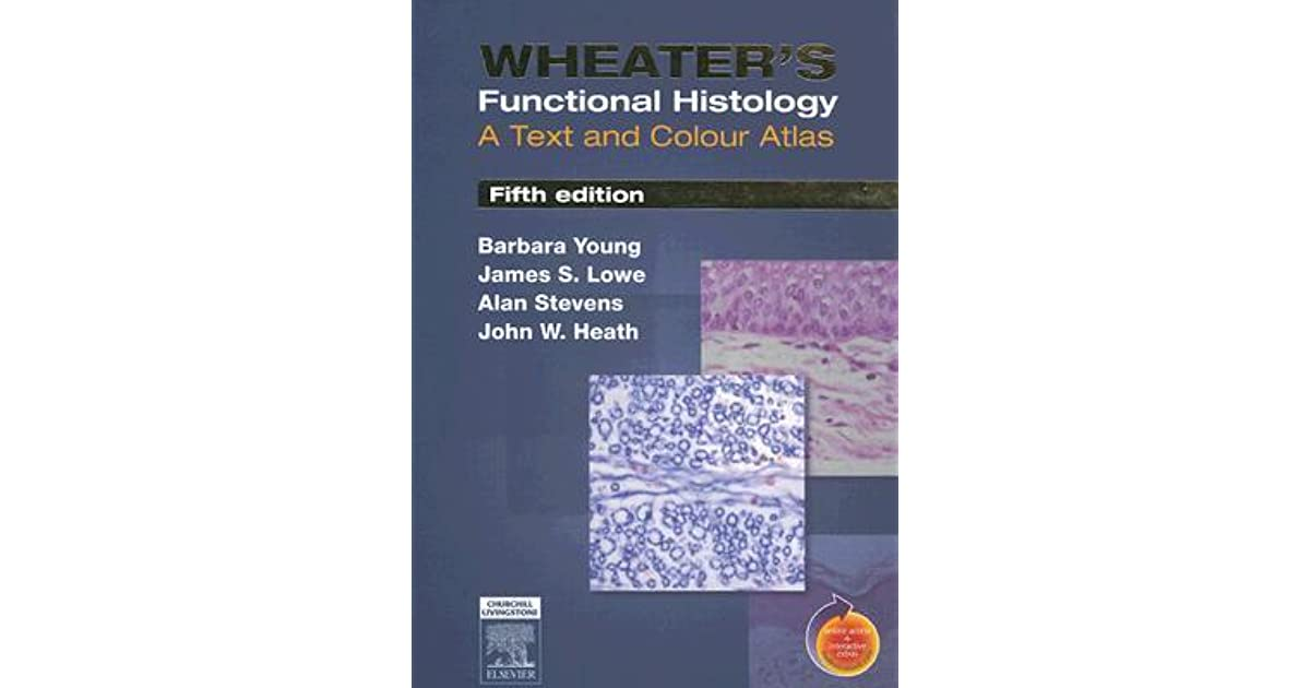 Wheaters functional histology a text and colour atlas by barbara young fandeluxe Gallery