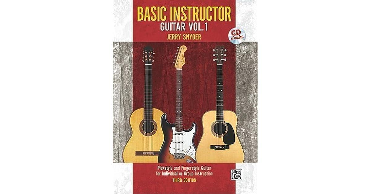 Jerry Snyder Guitar School Method Book 1