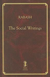 Rabash--The Social Writings