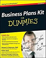 Business Plans Kit for Dummies [With CDROM]