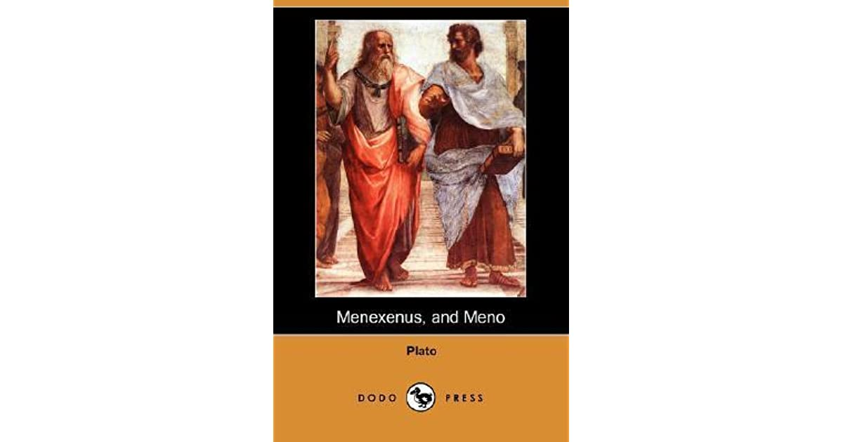 a literary analysis of meno by plato Plato's μενων (meno) is a transitional dialogue: although it is socratic in tone, it introduces some of the epistemological and metaphysical themes that we will see developed more fully in the middle dialogues, which are clearly plato's ownin a setting uncluttered by concern for socrates's fate, it centers on the general problem of the.