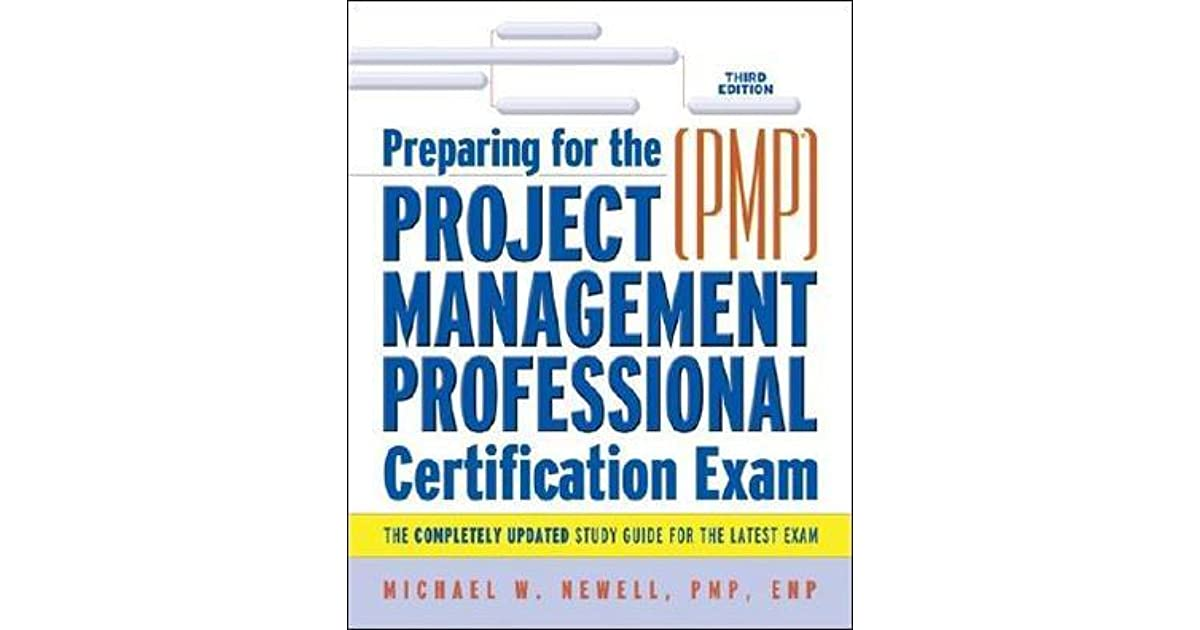 Preparing For The Project Management Professional Pmp Certification