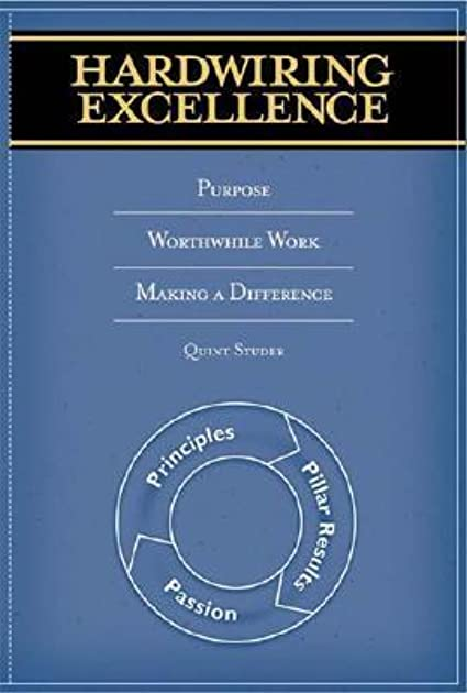 hardwiring excellence purpose worthwhile work making a difference rh goodreads com