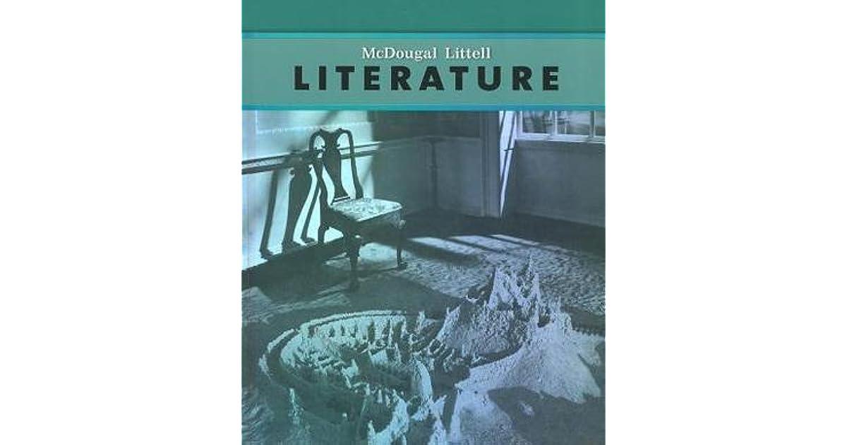 McDougal Littell Literature Student Edition Grade 8 By