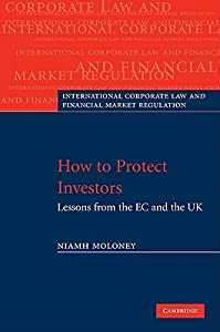 How to Protect Investors: Lessons from the EC and the UK