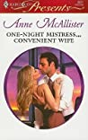 One-Night Mistress...Convenient Wife