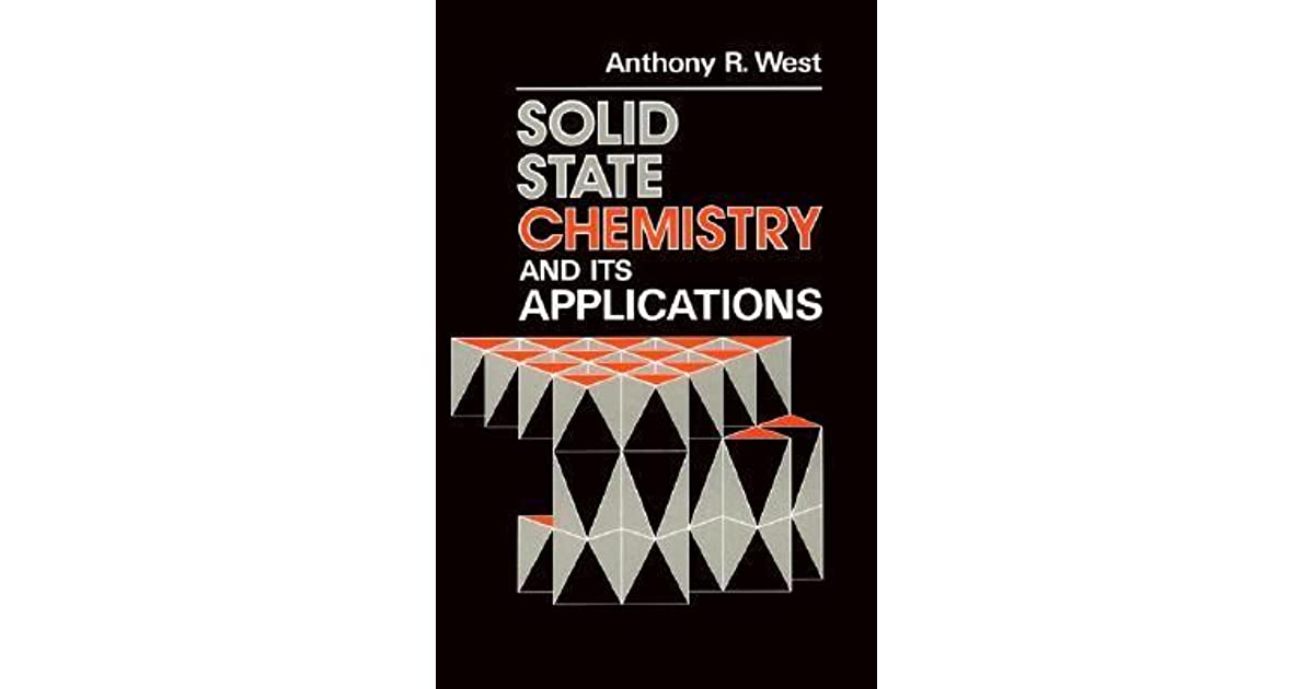 a r west solid state chemistry pdf
