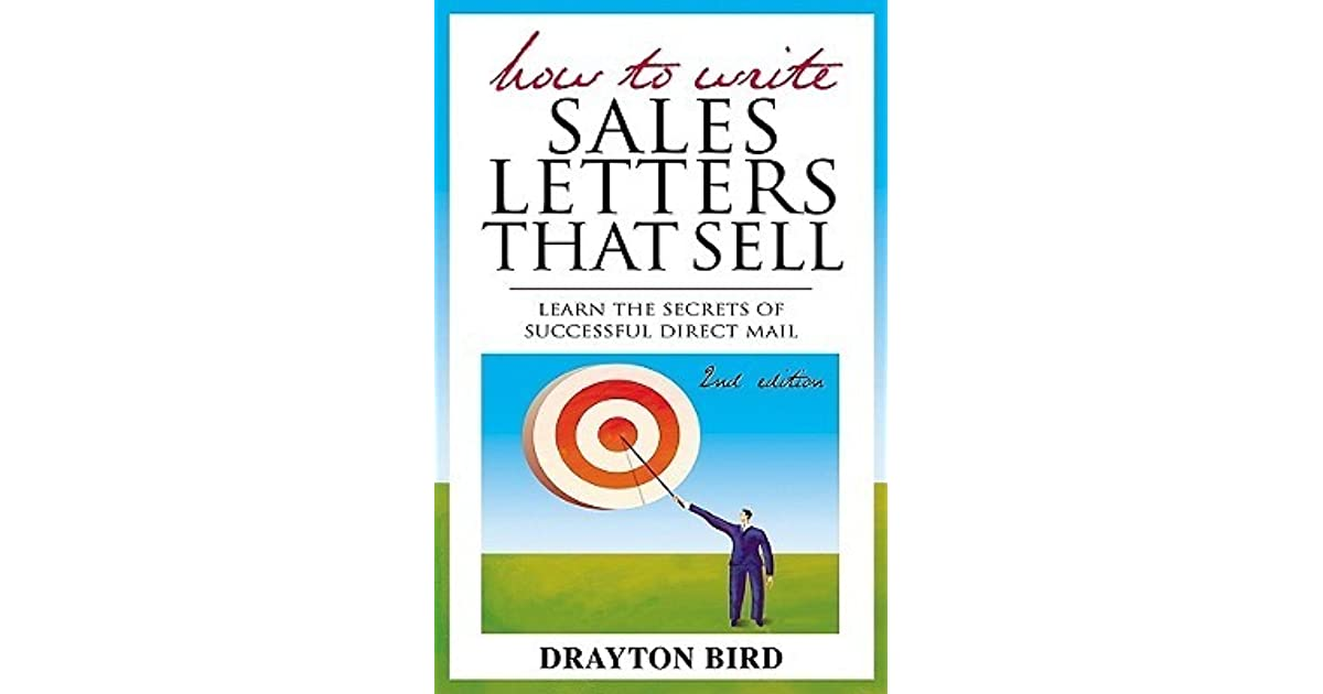How To Write Sales Letters That Sell Drayton Bird Pdf Download