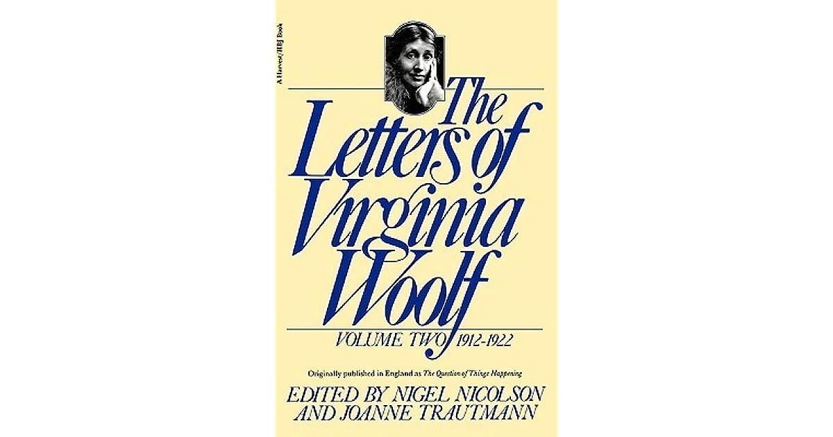 The Letters Of Virginia Woolf Volume