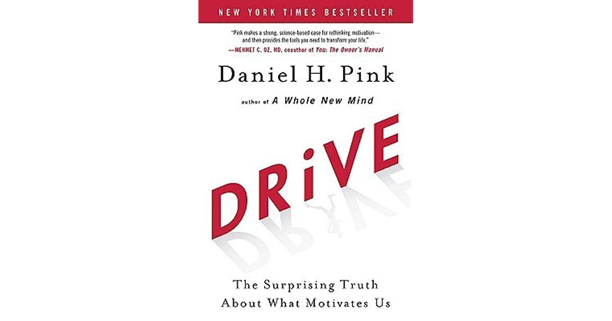 Drive the surprising truth about what motivates us by daniel h pink fandeluxe Choice Image