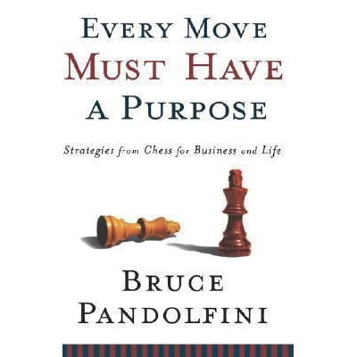 Every move must have a purpose strategies from chess for business every move must have a purpose strategies from chess for business and life by bruce pandolfini fandeluxe PDF