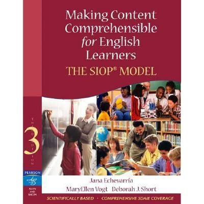 making content comprehensible for english learners pdf