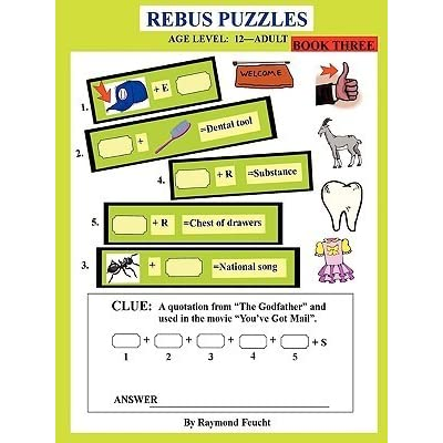 Rebus Puzzles Book Three By Raymond Feucht
