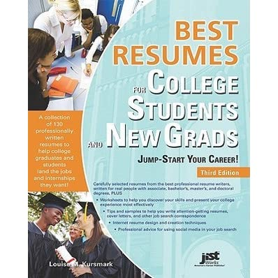 best resumes for college students and new grads jump