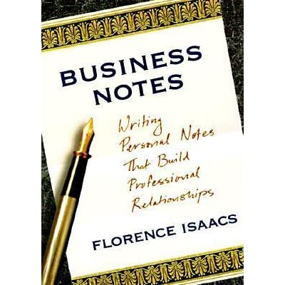 business notes The resulting vision was to create an introduction to business curriculum that was first, and above all else, for the benefit of the student the.