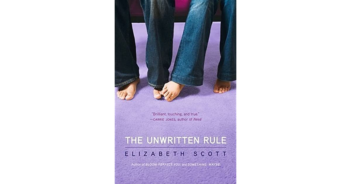 Unsaid rules dating my teenage