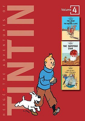 The Adventures of Tintin: Volume 4: The Crab with the Golden Claws, The Shooting Star & The Secret of the Unicorn