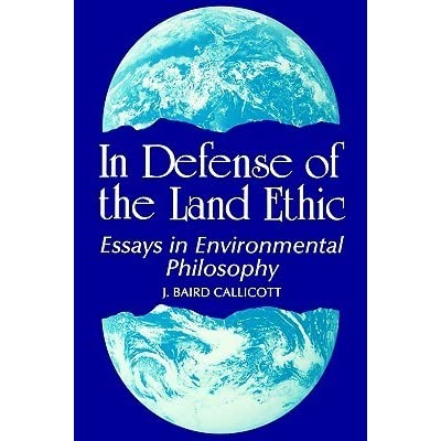 ethics of ecology essay Ecosystem ecology and metaphysical ecology: a case study karen j warren & jim cheney - 1993 - environmental ethics 15 (2):99-116 a field guide to the philosophy of ecology.
