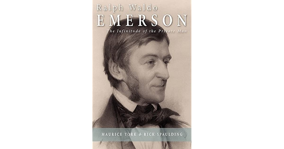 a critique on ralph waldo emerson Ralph waldo emerson the top dog of transcendentalism even the best of us have to retire from pond life every once in awhile to write a real scathing critique.