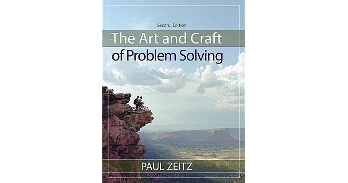 paul zeitz art and craft of problem solving solution manual