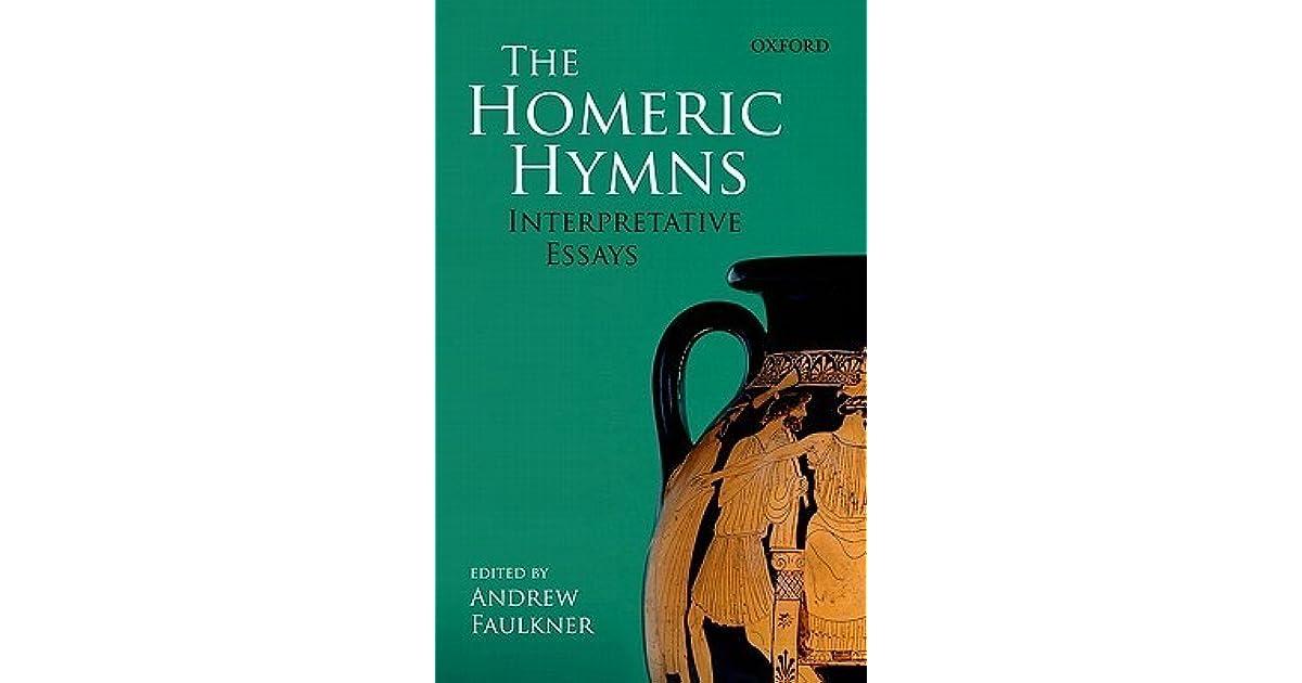 The homeric hymns interpretive essays