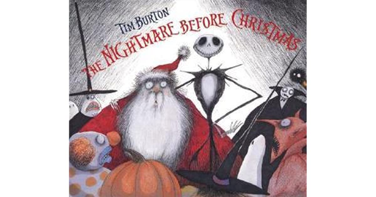 Tim Burton Christmas Carol.Tim Burton S The Nightmare Before Christmas By Tim Burton