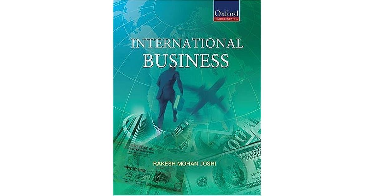 Rakesh Mohan Joshi International Marketing Pdf