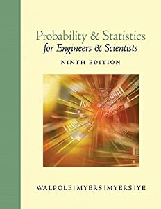 Probability & Statistics for Engineers & Scientists