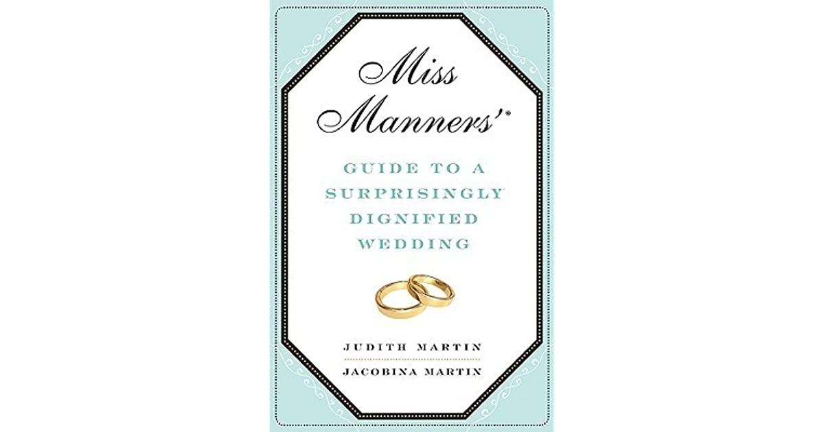 Miss manners wedding gift obligation