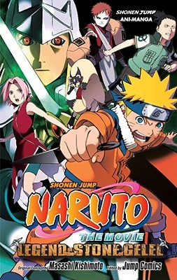 Naruto The Movie Ani-Manga, Vol. 2: Legend of the Stone of Gelel