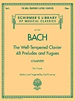 Bach - The Well-Tempered Clavier, Complete: Schirmer Library of Musical Classics, Volume 2057