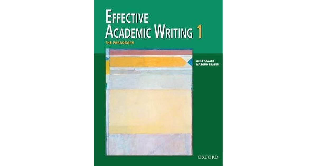 academic writing book 1 effective
