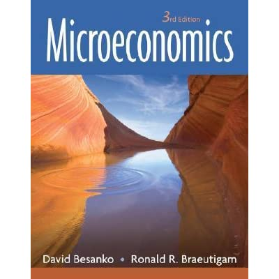 microeconomics by david besanko rh goodreads com Law Studies Microeconomics Homework Help