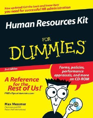 Human Resources Kit for Dummies 2nd Ed (ISBN - 0470049308)
