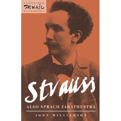 Strauss: Also sprach Zarathustra (Cambridge Music Handbooks)