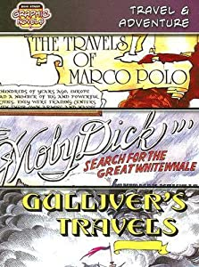"Travel & Adventure: The Travels of Marco Polo, ""Moby Dick"": Search for the Great White Whale, Gulliver's Travels"