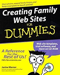 Creating Family Web Sites for Dummies [With CDROM]