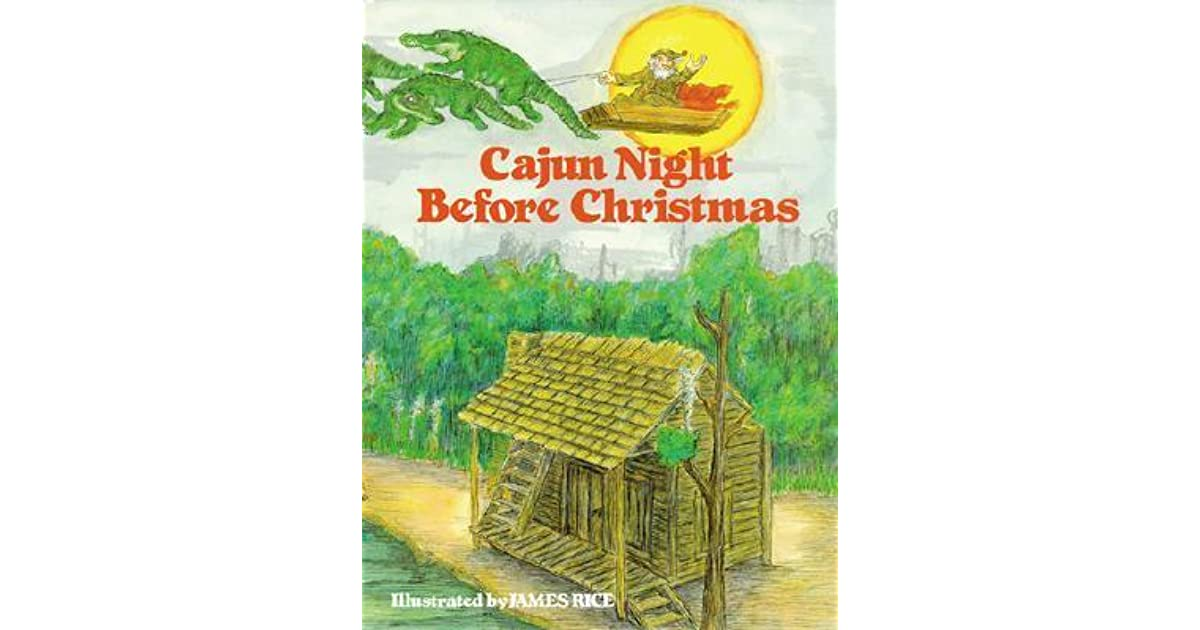 cajun night before christmas by howard jacobs - Cajun Night Before Christmas