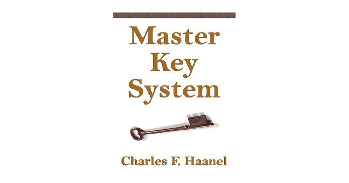 the master key system by charles f haanel pdf