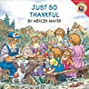 Just So Thankful by Mercer Mayer