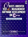 Object Oriented Test & Measurement Software Development In C++: Bridging The Gap Between Object Oriented Programming And Test & Measurement