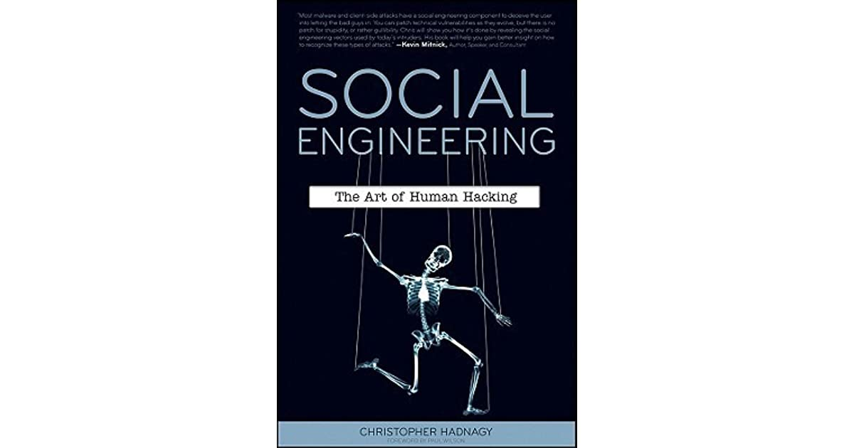 Chris hadnagy social engineering